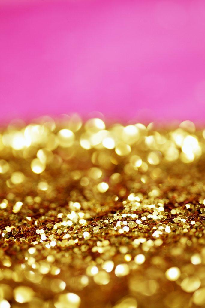 como tirar glitter